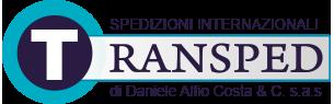 spedizioni internazionali transped catania logo